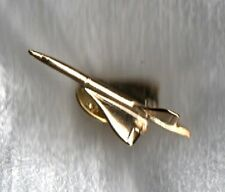 BRITISH AIRWAYS SST AIR FRANCE AÉROSPATIALE-BAC CONCORDE SST GOLD-PLATED SST PIN