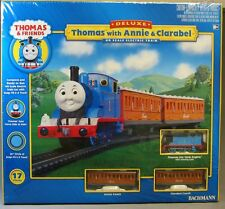 BACHMANN HO THOMAS THE TANK ANNIE & CLARABEL TRAIN SET READY TO RUN 00642 NEW