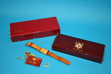 RARE ILLINOIS WATCH MEN'S SMALL SECOND HAND with LORD ELGIN BOX   * WORKING