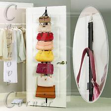 Handbag door organiser - Handbag hanger hooks. Hanging Handbag storer - 8 Hook