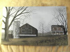Mail Pouch Barn Canvas Sign Picture Country House Farm