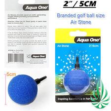 Aqua One 5cm Golf Ball Air Stone Make Oxygenated Bubbles Fish Tank Plant Grow