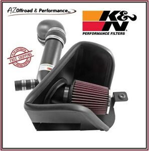 K&N 69 Series Typhoon Air Intake System fits 15-17 VW Golf 1.8L & GTI 2.0L L4