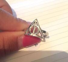 Harry Potter Anello Doni Della Morte Ring Deathly Hallows Sambuco Hogwarts magia