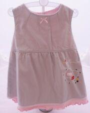 Compagnie des Petits robe doublée grise à motif coeur bébé fille 9 mois