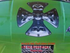 Iron Cross Golf Cart Hood Graphic Decal EZGO Club car Window Decals Go graphics