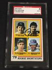 HOF PAUL MOLITOR 1978 TOPPS ROOKIE SIGNED AUTOGRAPHED CARD #707 SGC AUTHENTIC