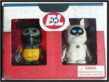 Wall-E and Eve Vinylmation Set LE 500 New in Box! MINT! EXTREMELY RARE!
