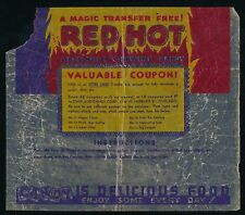 1930's R154? Overland Candy Co MAGIC TRANSFERS -Original Wrapper