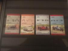Briefmarken ST: VINCENT Ozeanien 4 postfrische Paare - Rennwagen