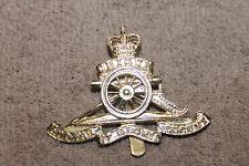 "Original Cold War Era Canadian Army Artillery ""UBIQUE'' Cap Badge, London Maker"