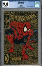 Spider-Man #1 CGC 9.8 NM/MT Gold Variant WHITE PAGES