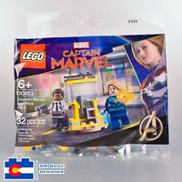 LEGO 30453 Captain Marvel and Nick Fury Polybag Brand New Sealed Cpt