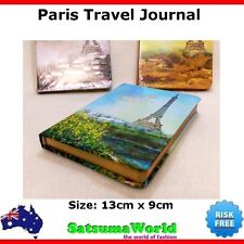 Journal Travel Book Diary Girls Notebook vintage cahier hot PARIS EIFFEL TOWER