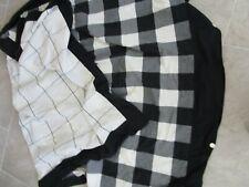 Twin Duvet Cover Isaac Mizrahi Target Buffalo Check Black White