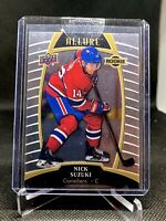 2019-20 Upper Deck Allure Rookies Nick Suzuki #91 Rookie Montreal Canadiens RC