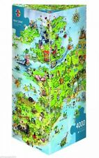 4000 PEZZI triangle-puzzle HEYE / Marino Degano -- Uniti DRAGON NUOVO