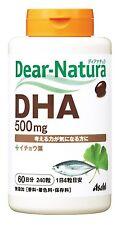 Asahi Dear Natura DHA EPA Ginkgo Leaf Extract 240grains Health Beauty Japan