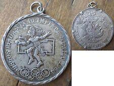 Silber Münze Mexico 1968  Charivari Uhrkette Trachtenschmuck Oktoberfest