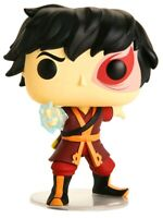 Zuko with Lightning Glow AVATAR Last Airbender FUNKO POP VINYL New in Box