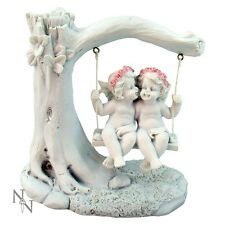 Affection Swing Angels Couple Love Ornament Figurine Figure Cherub Statue Gifts