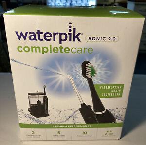Waterpik CC-01CD012-2 Waterflosser + Sonic Toothbrush Complete Care 9.0 - Black