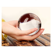 80MM Photography Crystal Ball Sphere Decoration Lens Photo Prop Lensball Clear
