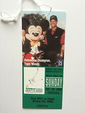 5 MINT PGA NATIONAL CAR RENTAL GOLF CLASSIC WITH TIGER WOODS ON THE TICKET