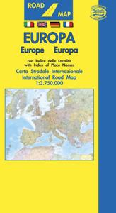 EUROPA CARTINA STRADALE [SCALA: 1:3.750.000] [CARTA/MAPPA/POSTER] BELLETTI SRL