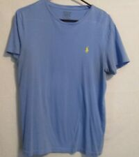 WOMEN'S RALPH LAUREN POLO  SHORT SLEEVE CREW NECK  T-SHIRT BLUE SMALL P.
