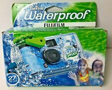 1 FujiFilm Quicksnap Waterproof OneTime Use 35MM Camera 27 Exposures
