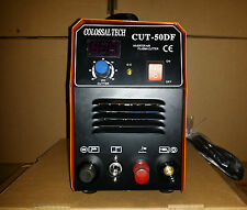 Pilot Arc Plasma Cutter CUT50DF 50AMP 110V and220V Dual Voltage & 36 Consumables