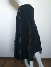 BAZAR CHRISTIAN LACROIX black flare skirt size 38