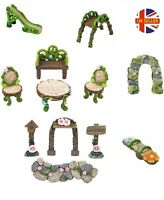 Decorative Secret Fairy Enchanted Garden Woodland Set Outdoor Ornaments