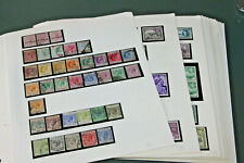 CYPRUS - QVIC- 1980 LARGE MINT (MUCH U/M) & USED COLLECTION ON LEAVES