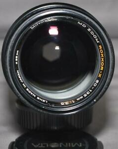 MD Zoom Rokkor-X 50-135mm 1:3.5 Lens from Japan