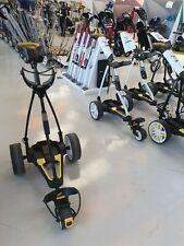 Golf PowaKaddy trolley Touch usado, función examinado sin batería + CARGADOR