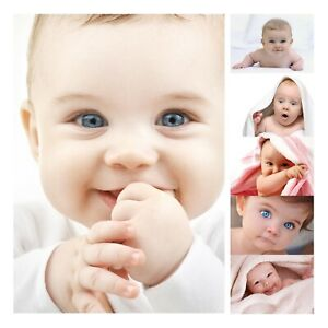 Cute Baby Pics Pictures Mum Mummy Pregnany Gift Baby Shower Photos Wall Posters