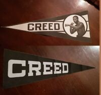 Creed 2 Production Used CREED PENNANT SET Original Movie Prop