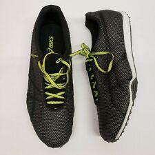 Asics Gel Dirt Dog 4 Men Track Spikes Black Green G106N-7490 Sizes 8.5 10.5 NIB