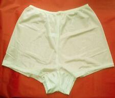 3 Pair Size 12 IVORY Flare Leg Nylon Tricot Panty  Like a Men's Boxer CLOSE OUT