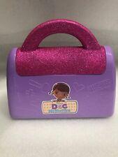 Disney's Doc McStuffins Hard Plastic Purple Doctor Bag Toy Preowned