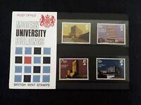 GB Presentation Pack 33 1971 Modern University Buildings CAT £10