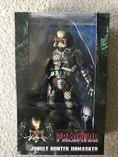 Neca Predator Unmasked Jungle Hunter Predator 30th Anniversary 7? Action Figure