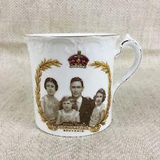 King George VI Commemorative Cup BRITISH ROYALTY 1937 Royal Family Coronation