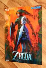 The Legend of Zelda Skyward Sword / Pokémon HeartGold and SoulSilver Rare Poster