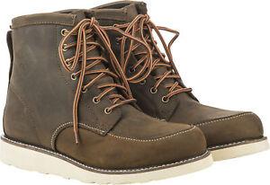 Fly Racing Tradesman Boots 8 Brown 361-10008