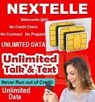 NEXTELLE Unlimited Talk,Text & Data