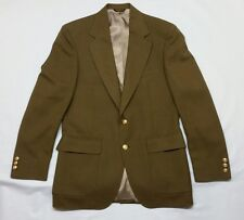 Adams Row by Anderson Little  Blazer, Olive, 40L,Gold Buttons -  Made In The USA