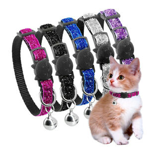 Cat Accessories Buckle Puppy Bell Pendant Necklace Dog Collar Cat Collars